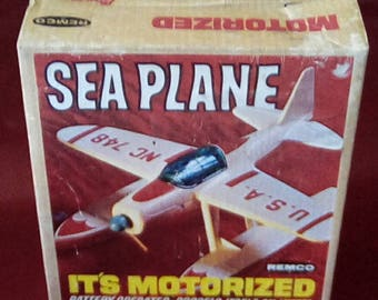 1966 Remco Sea Plane Near Mint in Box