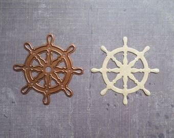 Die cut Stencil Creative sea boat bar