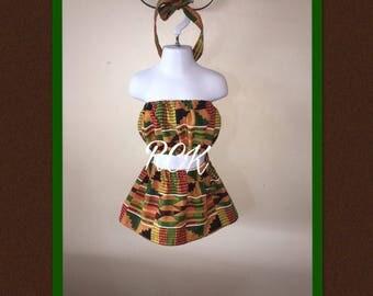 African Inspired Skirt Set