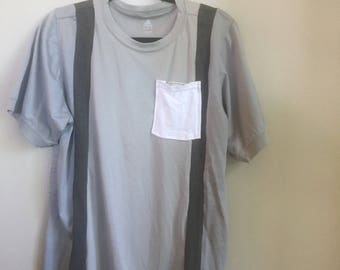 Sectioned Grey Tees