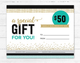 Gift Card - Gift Certificate - Gift for Coaches