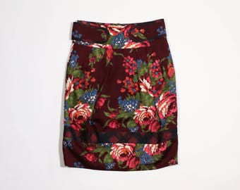 KENZO - Skirt with floral pattern