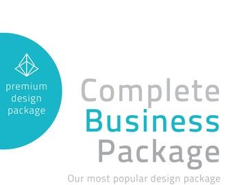 Custom Complete Business Branding Package Edition Brand Identity Graphic Design Logo Design Business Cards Stamps Invoicing complete