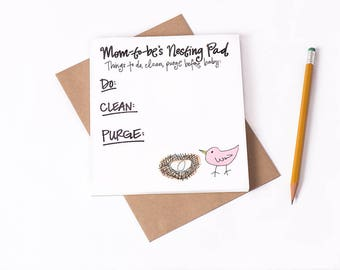 Notepad: Nesting Pad