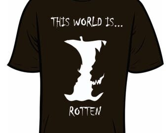 """This world is Rotten """" Death Note"""""""