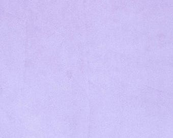 Lavender Minky Cuddle 3 - Shannon Fabrics - Smooth Minky, Light Purple Cuddle Solid Color Minky