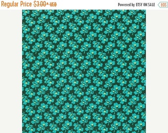 Sale Pansies in Pine from the Eternal Sunshine Collection by Amy Butler - Cotton Quilting Fabric