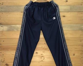 "Rare! Vintage Champion Sweatpant Joggerpant Size 26""~38"" x 39"""