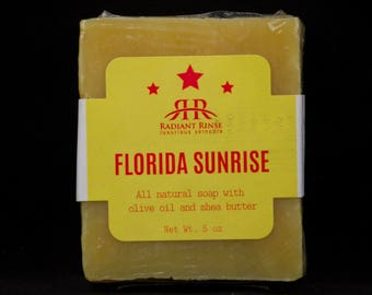 Florida Sunrise Handmade Soap