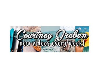 Beachy Custom Youtube Channel Art