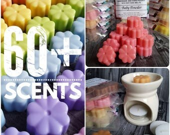 60+ Scents | Soy Wax Melts | Highly Scented | Wax Melts Burner | Eco Wax Melts | Scented Wax Tarts | Wax Tarts | Natural Wax Melts | UK