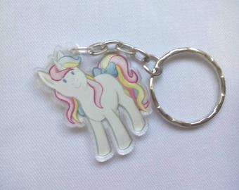 Cute Unicorn Keyring