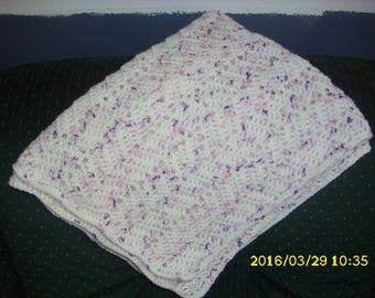 Baby blanket for pram or bassinet 72 X 57 cm