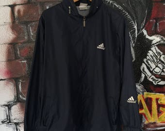 Vintage Adidas Big Logo Light Jacket
