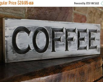 Back to School Sale Rustic Kitchen Coffee Sign, Coffee Wall Art Wood Sign, Coffee Decor Coffee Sign,
