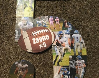Sports Photo Wooden Collage