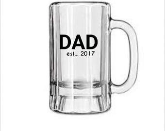 Dad heavy beer mug