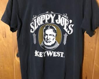 Sloppy Joe's Key West Shirt Distressed