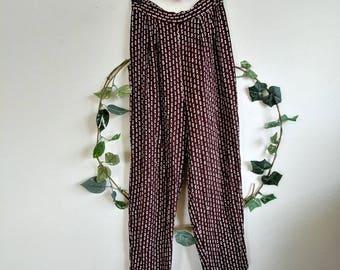 Vintage Bear Brown Perfect Pattern Pants