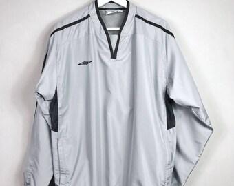 UMBRO • Windbreaker • S • sport jacket • sportswear • vintage jacket • vintage Berlin • silver jacket