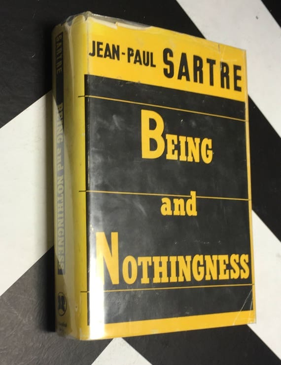Being and Nothingness by by Jean-Paul Sartre (Hardcover, 1956)
