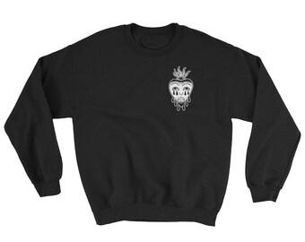 Crying Sacred Heart Sweatshirt
