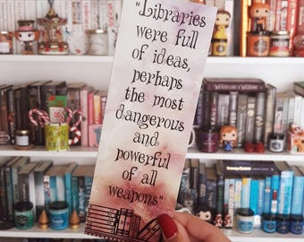 Libraries Were Full Of Ideas