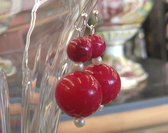 Upcycled 60s Beads-free ship