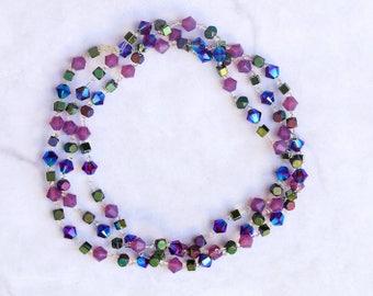 Aurora Swarovski Crystal Multiway Bracelet