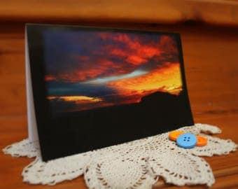Sunset Regular Card