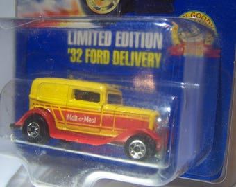 Hot Wheels Limited Edition '32 Ford Delivery - Malt-o-Meal - 1993 - 1/64 Scale