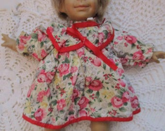 Ugly Gloobee Expression Girl Doll with Floral Dress (1990s)