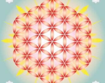 Crystal grid - L