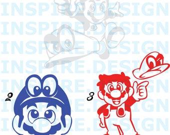 Mario Odyssey Decals