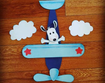 Snoopy Airplane Baby Shower Party Decorations or Birthday Party