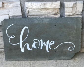 Hand painted Slate