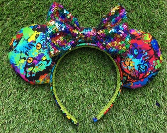 Rainbow Cat Mouse Ears