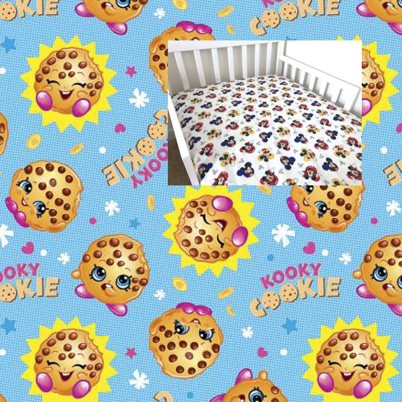 cotton disney fitted crib sheet shopkins toddler crib sheet shopkins girl toddler crib boy crib sheet