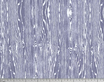 One Yard Cut - Woodgrain in New Grey - Basic Colors by Joel Dewberry for Free Spirit -  Quilters Cotton - Fabric by the Yard