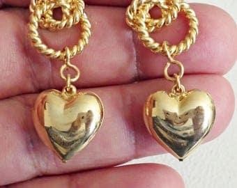 VINTAGE very nice  pierced Earrings /CC10