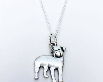 Rottweiler Charm Necklace