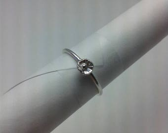 Floral Stacker Ring