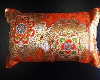 Cushion of Obi (Kimono) Japanese Silk  0000114