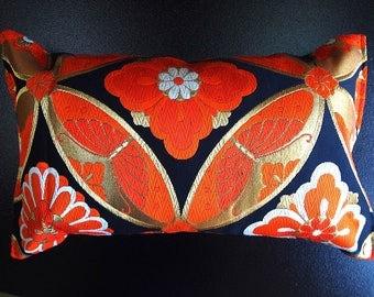 Cushion of Obi (Kimono) Japanese Silk  0000119