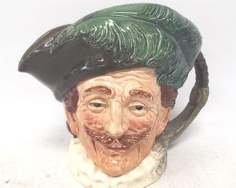 "Vintage ROYAL DOULTON ""The Cavalier"" Toby/Character Jug from 1940s"