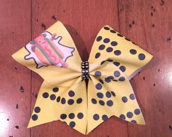 Ready to ship sublimated cheer bows!