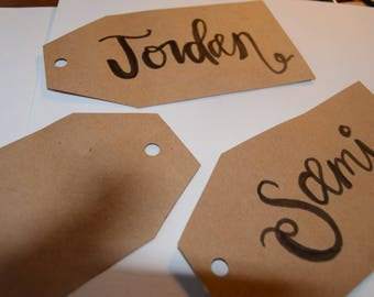 Plain or Laminated Gift-Tags (10)