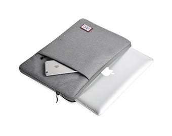 Macbook Pro Hard Case, Macbook Pro Sleeve 15 Inch, Macbook Pro Case 15 Inch, Laptop Sleeve 15 Inch, Macbook Pro Retina Display, Grey
