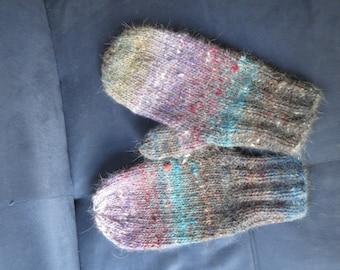 Wool Mohair Mittens
