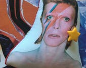 David Bowie Puffy Pin